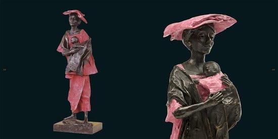 Beroemd Marianne Houtkamp, Bronzes Uitgeverij van Wijland #JR88
